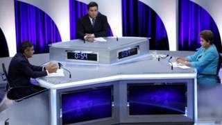Debate no SBT na semana passada (dvulgação)