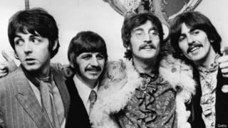 Los Beatles, en una foto de 1967