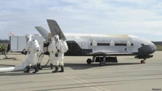 Беспилотный космический корабль ВВС США Boeing X-37B