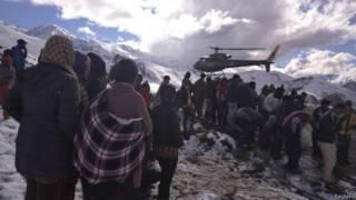 नेपाल हादसा, राहत और बचाव कार्य
