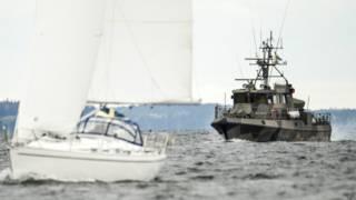 Шведский военный корабль