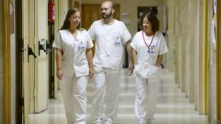 Медики из больницы Карлоса III
