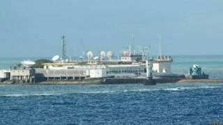 永暑島(新華社2012年資料照片)