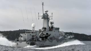 Búsqueda de objeto en aguas suecas