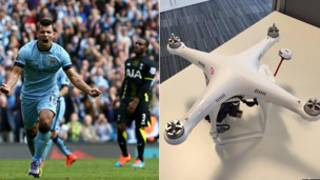 Manchester City Drone