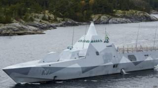 Buque naval sueco