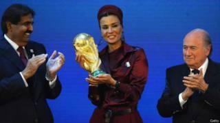 Catar venceu a disputa para sediar a Copa de 2022 / Crédito: Getty
