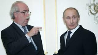 De Margerie con Putin