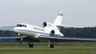 Falcon 50 EX с регистрационным номером F-GLSA 9 октября 2012 года
