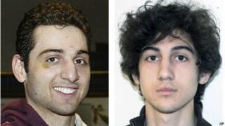 Братья Царнаевы, подозреваемые в совершении теракта на марафоне в Бостоне