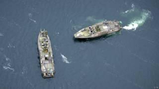 Navíos militares suecos