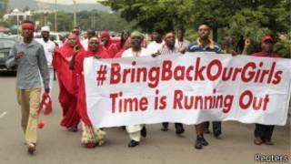 Mu ntangiriro z'uyu mwaka Boko Haram yashimuse abakobwa barenga 200.