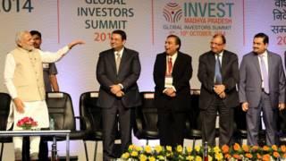 नरेंद्र मोदी और भारतीय कारोबारी