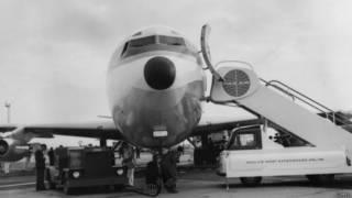 Un Boeing 707 en 1958