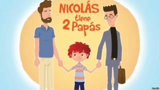 nicolas tiene dos papas movilh