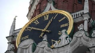 Кремлевские часы на Спасской башне