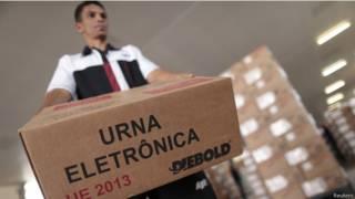 Urna eletrônica (Foto: Reuters)