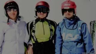 कश्मीर स्कीइंग