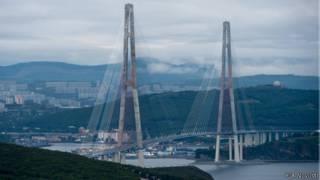 мост через Золотой Рог, Владивосток