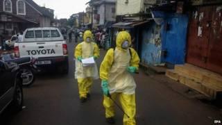 इबोला संक्रमण से मरने वालों की संख्या में बढ़ोतरी