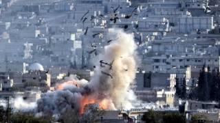 Бои вокруг Кобани продолжаются уже в течение шести недель