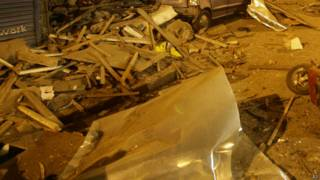 भारत, विस्फोट स्थल