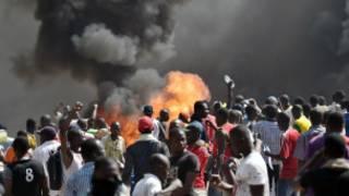 'Yan Burkina Faso suna zanga-zanga