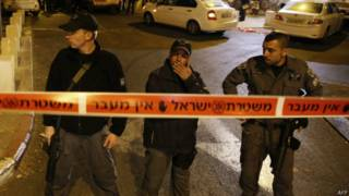 Израильская полиция на Храмовой горе