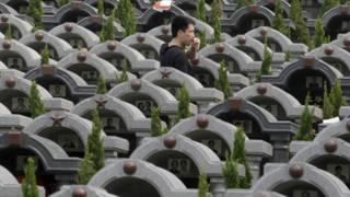 Nghĩa trang tại Trung Quốc