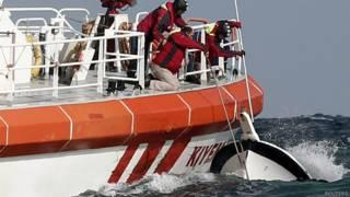 तुर्की में नाव दुर्घटना