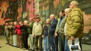 Sobrevivientes de la estructura que dirigió Jorge Schindler.