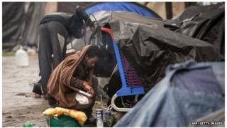 近幾個月,加來的非法難民人數劇增至2500人