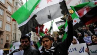 معارضون سوريون