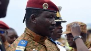 Luteni Kanali Isaac Zida wa Burkina Faso