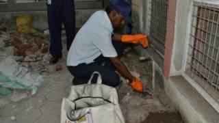 इंदौर अस्पताल में चूहों का आतंक
