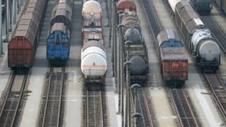 Забастовка железнодорожников