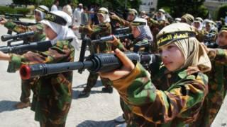 Палестинские девочки