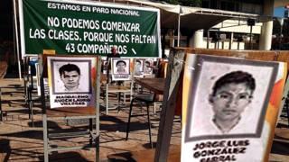 Escuela Nornmal Rural de Ayotzinapa, Guerrero.