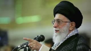 Духовный лидер Ирана аятолла Али Хаменеи (7 сентября 2014 года)
