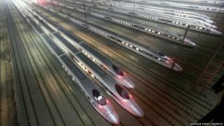 中国高铁(新华社图片)