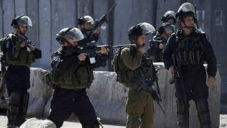 Иерусалим израильские силы безопасности