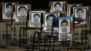 मेक्सिको लापता छात्र