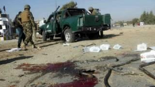अफ़ग़ानिस्तान, बम धमाका, पुलिस