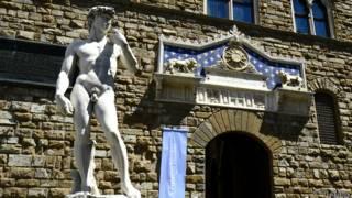 Estátua de David, em Florença, na Itália   Foto: Thinkstock
