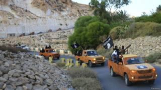 Исламисты в Дерне