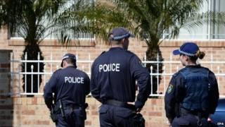 澳大利警察