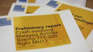 """Предварительный доклад о причинах катастрофы малайзийского """"Боинга-777"""" на востоке Украины"""