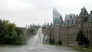 Lahey'de parlamento binası