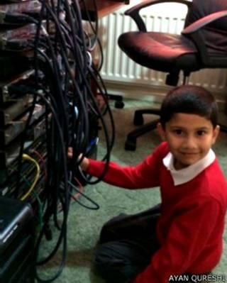 अयान कुरैशी, 5 साल का माइक्रोसॉफ्ट प्रोफेशनल