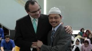 Imam Shamsi Ali dan Rabi Marc Schneier
